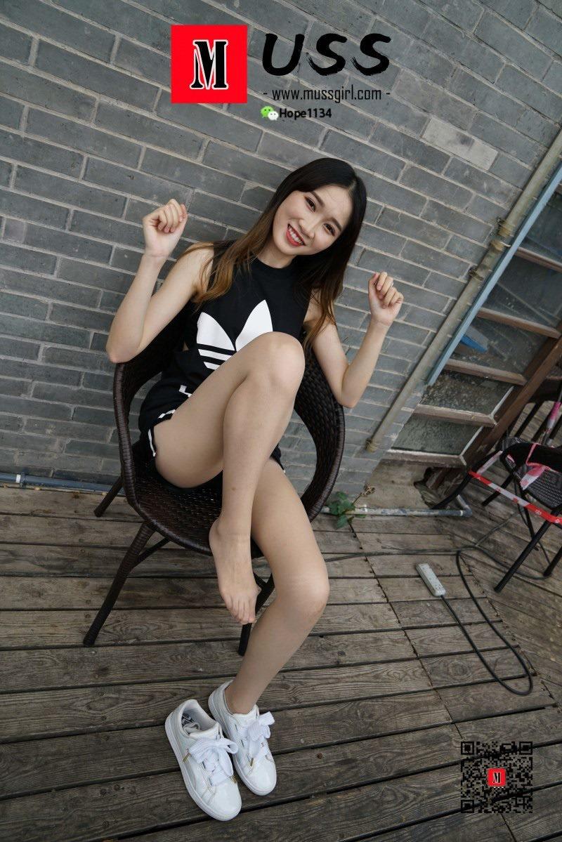 [MussGirl慕丝女郎]NO.009 开心少女腿腿[97P/205M]